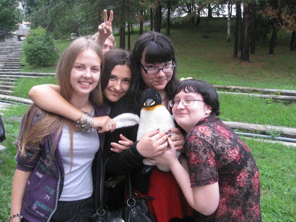 Все любят пингвина