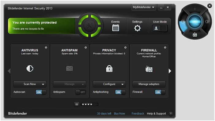 Bitdefender: Internet Security 2012