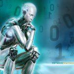 Робот думает