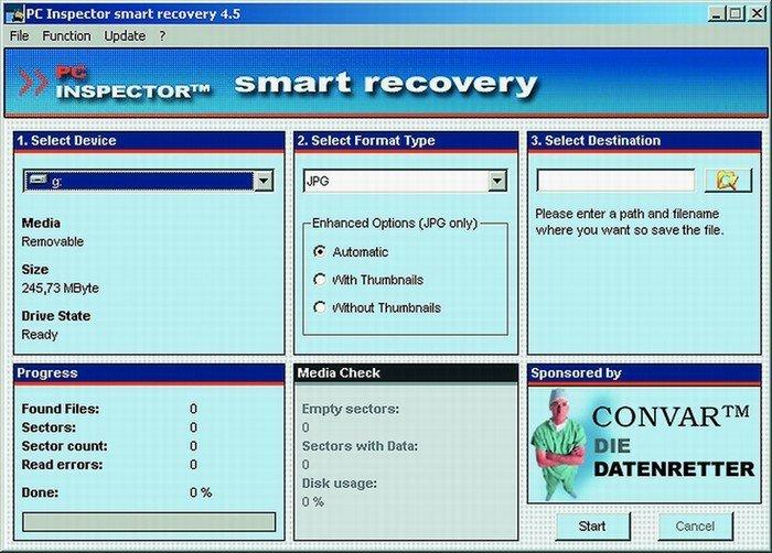 программа для восстоновления информации