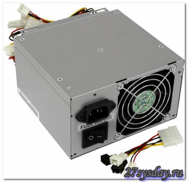 Блок питания ATX 235W для компьютера, PowerMaster, исправный - п Уфа.