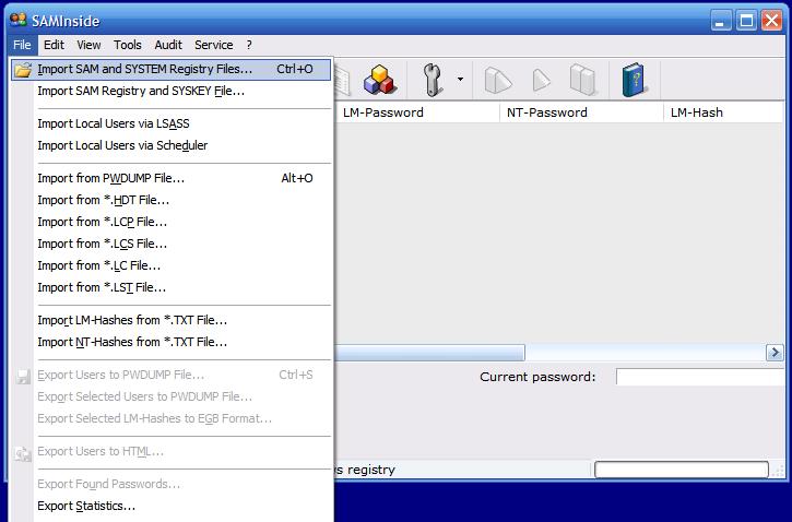 Взлом пароля учетной записи администратора в Windows 7. Взлом пароля.