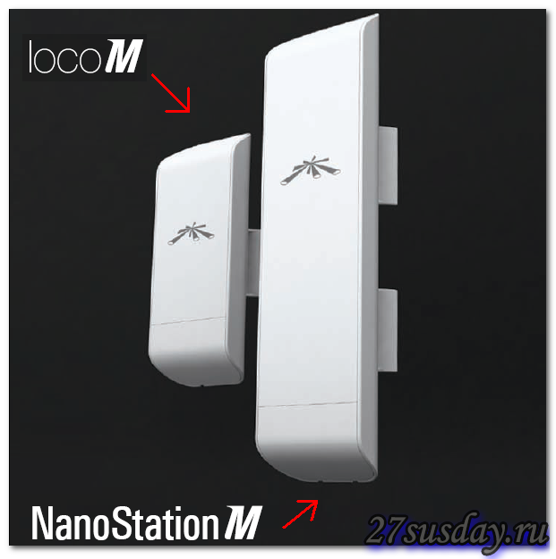 установки nanostation M2