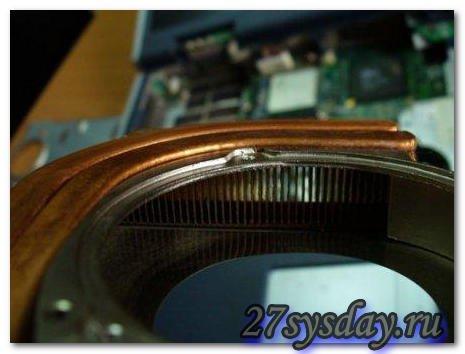 Чистка вентилятора ноутбука