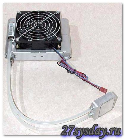 Как сделать водяное охлаждение для ноутбука - Pumps.ru