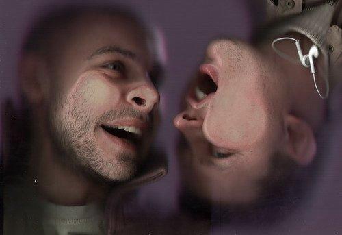 Мужики засунули голову в сканер