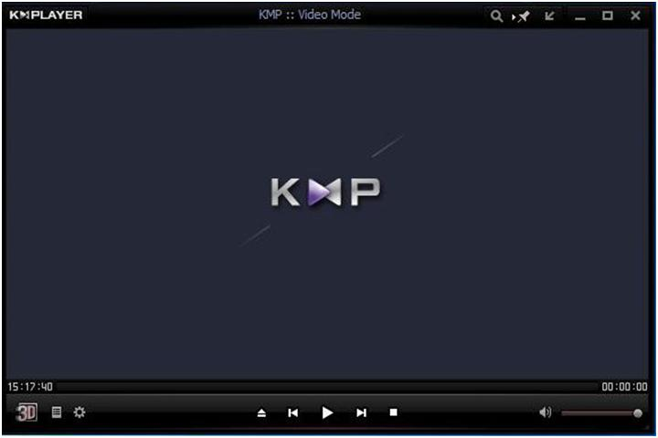 окно kmplayer плеера