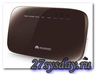 Бюджетный роутер с большими возможностями: Нuawei hg231f