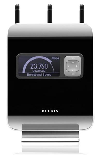 Знакомство с беспроводными роутерами фирмы Belkin