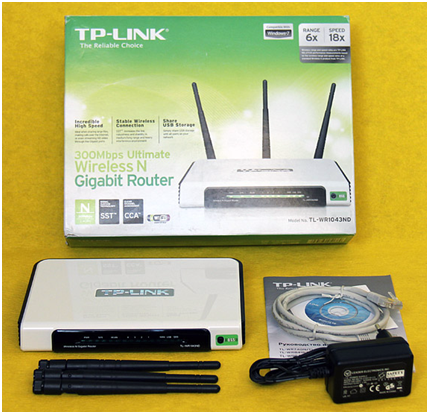 Маршрутизатор TP Link wr1043nd