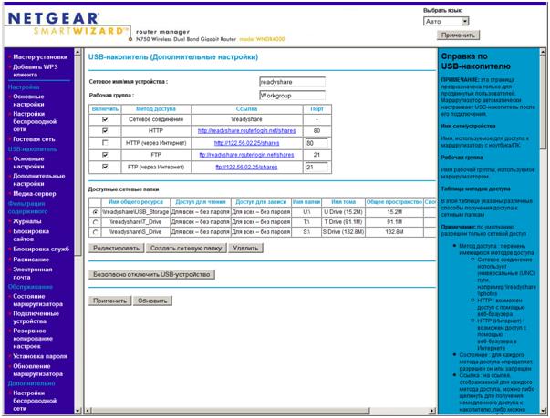 Беспроводные маршрутизаторы фирмы Netgear