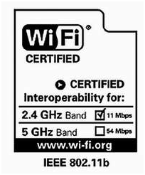 Этикетка wi-fi