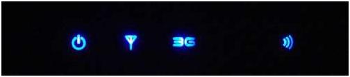 пять светящихся светодиодов