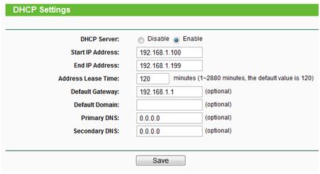 автоматическое назначение IP-адресов