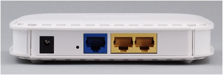 задняя панель устройства