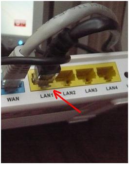 проводное подключение роутера