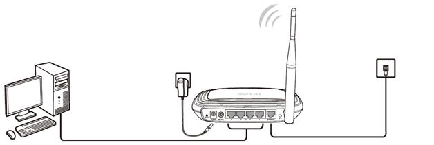 Подключаем провод к компьютеру