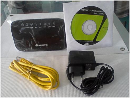 Провода,  установочный диск, сам маршрутизатор