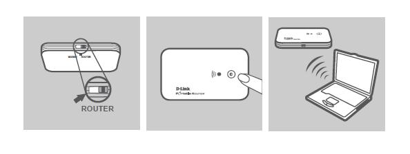 Подключение через шнур USB
