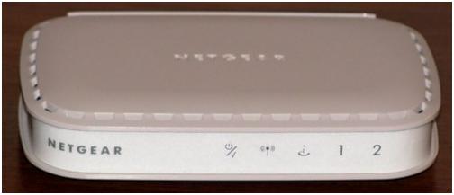 Передняя часть маршрутизатора