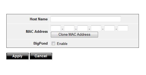 Нажимаем Clone MAC Address