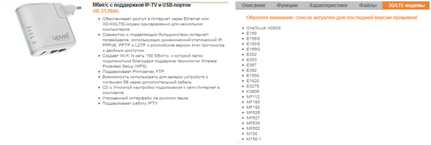 информация про маршрутизатор