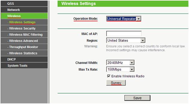 список Wi-Fi-сетей