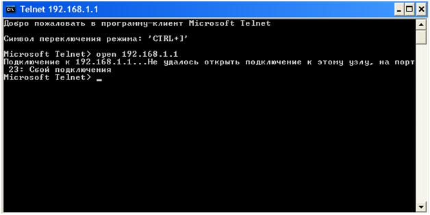номер порта Telnet