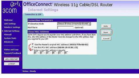 Соединение с сетью