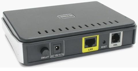Модем оснащенный портом LAN