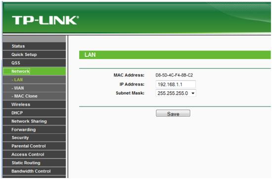 IP-адрес маршрутизатора