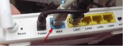 Слот для Интернет-провода