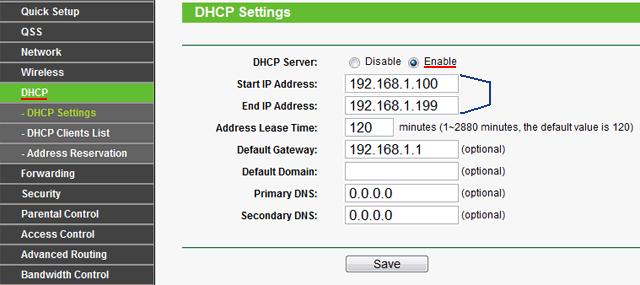 Значения IP