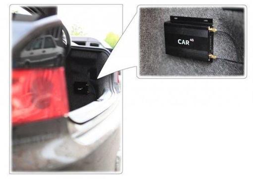 Роутер для монтажа в багажнике