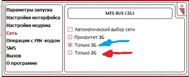 Приоритет 3G