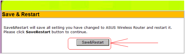 Save&Restart